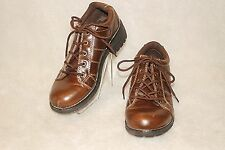 MELROSE AVE. ~ Brown Vintage Look Oxford Shoes Sz 7.5 * VERY GOOD COND.