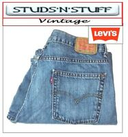 "VINTAGE LEVIS 550'S RELAXED FIT JEANS W32"" L27"" APROX SIZE UK 12 (T23)"