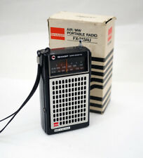 Vintage Sharp FX-213AU Airband/MW Portable Transistor Radio - Boxed 1978