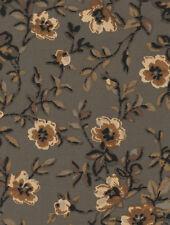 Longaberger 2004 -2007 TV Time Basket Khaki Floral Fabric Liner NIP