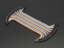 """Adafruit Premium Female/Female Jumper Wires - 40 X 6"""" [ADA266]"""