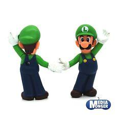 """Nintendo 2013 LUIGI FIGURA agitando 9cm 3"""" pulgadas"""