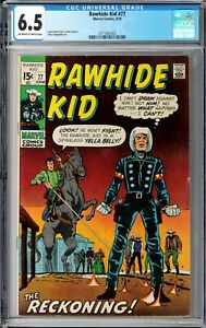 Rawhide Kid #77 CGC 6.5 (Jun 1970, Marvel) Larry Lieber story & cover, Western
