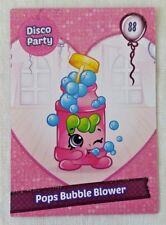 Shopkins Season 7 Card 88 Pops Bubble Blower Glitter card - Free Post