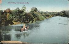 Piratini, Rio Grande do Sul, Brazil - river - postcard by Strauch, c.1910s