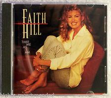 Take Me as I Am by Faith Hill (CD, Jul-2000, Warner Bros.) BMG Direct Marketing