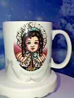 "PAUL CARDEW ""VICTORIAN DOLLS"" Coffee Mug/Tea Cup"