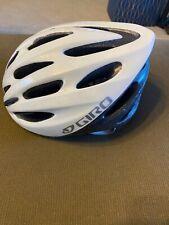 Giro Kids- Youth Helmet White W/ Chin Strap & Adjustable Fitting
