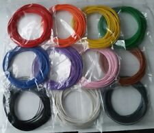 110m Solid Core 1/0.6mm Equipment Hookup Wire 10m*11 Colours, Breadboard Arduino