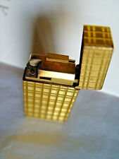 23.75 Gold plated Carats VINCI RARE French  Lighter AGH517 Vintage