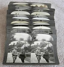 LARGE LOT of 35 Stereoviews  KEYSTONE View Co. Underwood & Underwood Stereograph