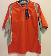 Men's Mizuno Team Wear Batting Practice Jersey Orange/Gray (Sz: Medium) NEW NWT