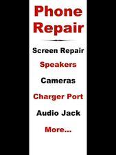 PHONE REPAIR SERVICE VINYL BANNER SIGN - 3' X 8'