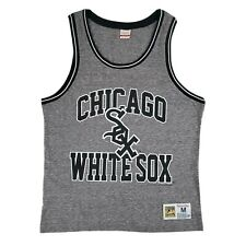 Mitchell & Ness Chicago White Sox Tank Top Mens Medium Cooperstown Collection