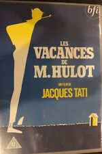 LE VACANCES DE M. HULOT OOP RARE DELETED DVD MOVIE MR HULOT HOLIDAY JACQUES TATI