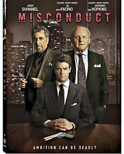 Misconduct (DVD) ANTHONY HOPKINS USED VERY GOOD