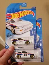 2020 Hot Wheels (Lot of 2): '88 Honda CRX White 123/250 HW Honda 5/5