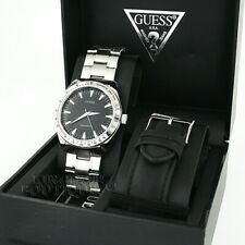 New GUESS Mens Watch Sport 2in1 Box Gift Set Interchangable Strap MF Montre NwT