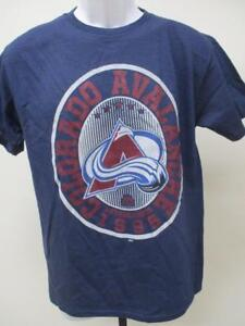 New Colorado Avalanche Youth Size XL XLarge Blue Shirt