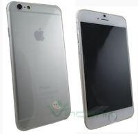 Custodia PERFECT FIT trasparente per iPhone 6 6S cover ultra sottile gel flex