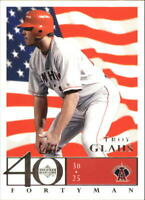 2003 Upper Deck 40-Man Red White and Blue Baseball Card Pick