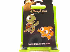 Disney * FINDING NEMO - NEMO & SQUIRT * 2 Pin Set * New on Card