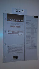 Sansui d-990r service manual original repair book stereo tape deck player