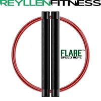 FLARE™ RPM Style CrossFit Speed Jump Rope with Dual Swivel Design WOD Training