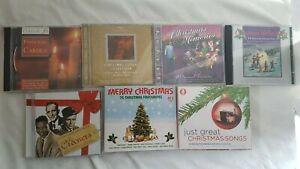 CDs Christmas Festive - Carols, Choral, Memories, Reflections, Crooners, Songs