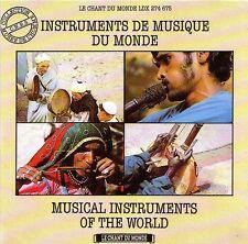 Instruments de Musique du Monde - Collection CNRS Musée de L'Homme - CD