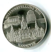 Medaille Weltausstellung 2000 Hannover Pro Virtute et Merito Hanauer KI3033