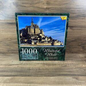 Sure Lox Wonderful World 1000 Piece Jigsaw Puzzle NEW Mont St-Michel France