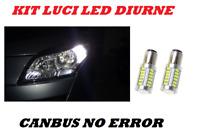 LUCI DIURNE LED P21W MEGANE 3 III CANBUS 6000K NO ERROR
