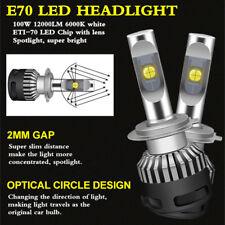 H1 H4 H7 H11 CREE ETI70 Car LED headlight kit bulb 100W 6000K Fog DRL light lamp