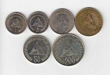 More details for bulgaria 1992 rare lot of 6 illega street gambling sofia mobster gang tokens
