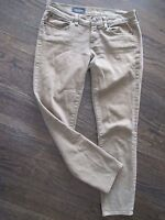 J CREW WOMENS SZ 28 ANKLE TOOTHPICK GREEN SLIM FIT SKINNY DENIM JEANS B16