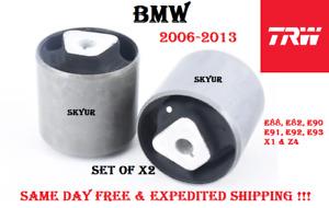 06-13 BMW E88 E82 E90 E92 E93 X1 Z4 Front Lower Control Arm Bushing Set (2 PC)