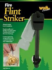 Flint Striker Fire Starter Hiking Backpacking Survival Gear