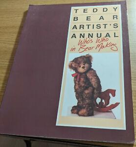 Teddy Bear Artist's Annual Volpp 1989