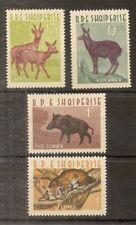 Albania 1962 Animals SG724-727 MNH Cat£31