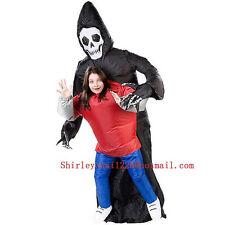 Inflatable Grim Reaper Death Costume Scary Ghost Batik Tokyo Scream Movie Ghost
