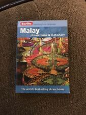 Berlitz Malay Phrase Book And Dictionary