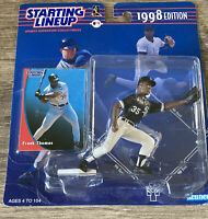 "Frank Thomas Kenner 1998 4"" Starting Lineup Figure   Card MLB Chicago White Sox"