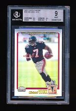 MICHAEL VICK 2001 TOPPS CHROME REFRACTOR RC ROOKIE /999 STRONG SUB:9.5,8.5,9.5,9