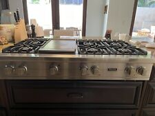 Viking professional rangetop cooktop 48� Very Good Condition
