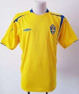 Sweden 2005 - 2006 Home football Umbro shirtsize XL