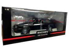 1988 FORD SIERRA RS 1/18 DIE CAST BLACK BY MINICHAMPS 150 084001