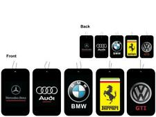CAR AIR FRESHNER, OFFICIAL AUDI, BMW, FERRARI, MERCEDES & VW (Buy 3, Get 1 Free)