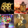 6Pcs 20 LED Wire Copper Fairy String Lights Wedding Party Battery Lamp Decor IL