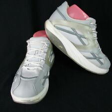 MBT Women's Size 9.5 Physiological Footwear M.Walk Silver White Toning Shoes